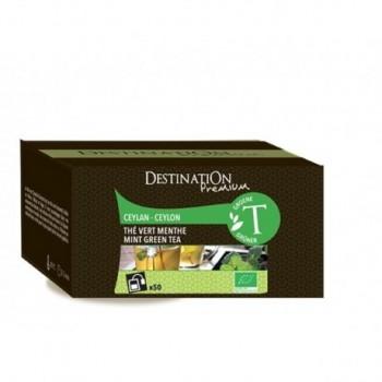 Mint Green Tea - Ceylon -...