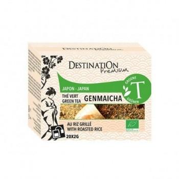 Té asado verde Genmaicha -...