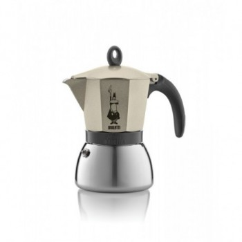 Moka Induction Gold 6 Cups