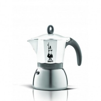 Moka Induction White 6 Tasses