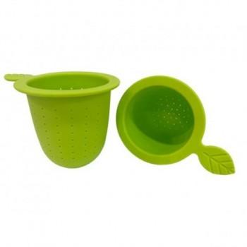 Silicone tea filter