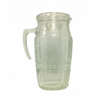 Carafe with integrated...