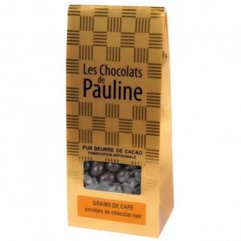 Ballotin of coffee beans...