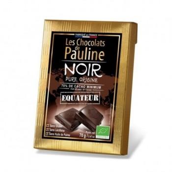 70% Ecuador Dark Chocolate...