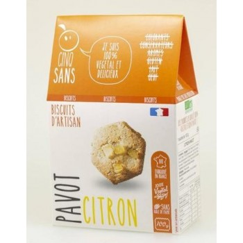 Biscuits Pavot Citron bio –...
